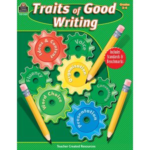 TCR3587 Traits of Good Writing, Grades 3-4                           Image