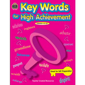 TCR3612 Key Words for High Achievement Image