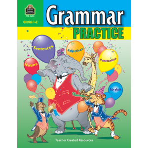 TCR3620 Grammar Practice for Grades 1-2 Image