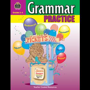 TCR3621 Grammar Practice for Grades 3-4 Image