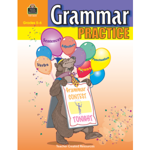 TCR3622 Grammar Practice for Grades 5-6 Image
