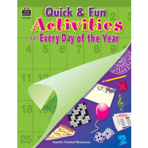 TCR3626 Quick & Fun Activities for Every Day of the Year Image
