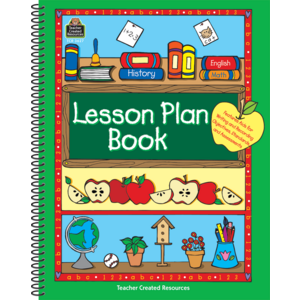 TCR3627 Lesson Plan Book Image