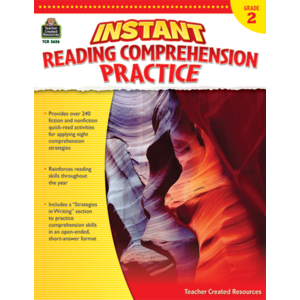 TCR3636 Instant Reading Comprehension Practice Grade 2 Image