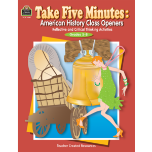 TCR3641 Take Five Minutes: American History Class Openers Image