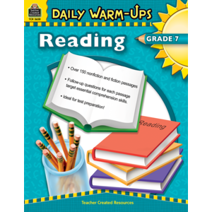 TCR3658 Daily Warm-Ups: Reading Grade 7 Image