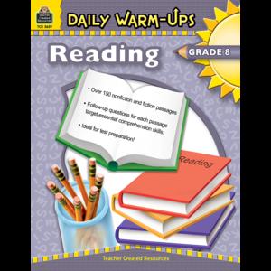 TCR3659 Daily Warm-Ups: Reading Grade 8 Image