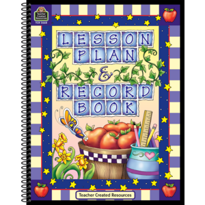 TCR3668 Lesson Plan and Record Book Image