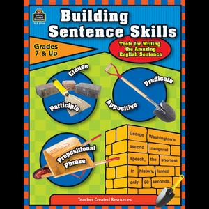 TCR3704 Building Sentence Skills Image