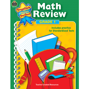 TCR3741 Math Review Grade 1 Image