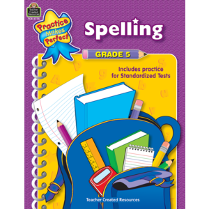 TCR3775 Spelling Grade 5 Image