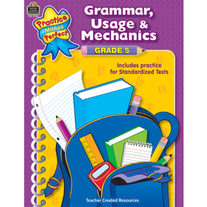TCR3780 Grammar, Usage & Mechanics Grade 5 Image