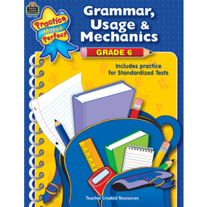 TCR3781 Grammar, Usage & Mechanics Grade 6 Image