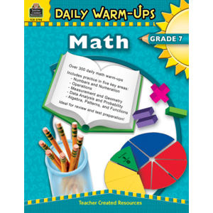 TCR3798 Daily Warm-Ups: Math Grade 7 Image