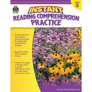 TCR3834 Instant Reading Comprehension Practice Grade 5 Image