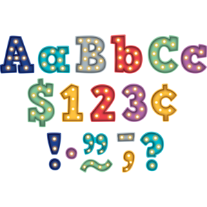 """TCR3882 Marquee Bold Block 3"""" Letters Image"""