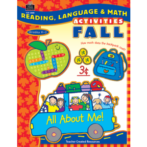 TCR3888 Reading, Language & Math Activities: Fall Image