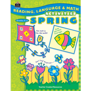 TCR3890 Reading, Language & Math Activities: Spring Image