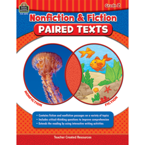 TCR3892 Nonfiction and Fiction Paired Texts Grade 2 Image