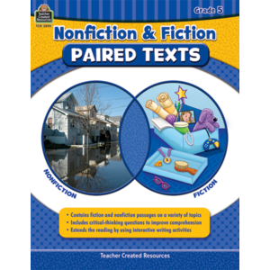 TCR3895 Nonfiction and Fiction Paired Texts Grade 5 Image