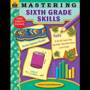 TCR3945 Mastering Sixth Grade Skills Image