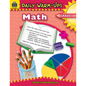 TCR3959 Daily Warm-Ups: Math, Grade 1 Image
