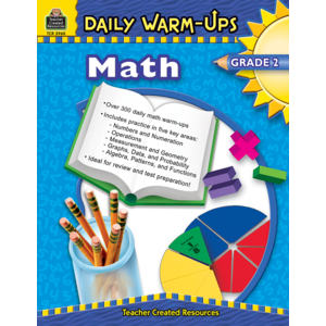 TCR3960 Daily Warm-Ups: Math, Grade 2 Image