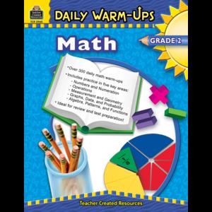 TCR3960 Daily Warm-Ups: Math, Grade 2 Image