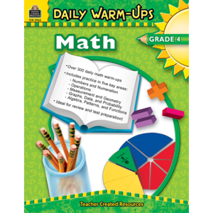 TCR3962 Daily Warm-Ups: Math, Grade 4 Image
