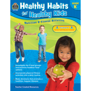 TCR3987 Healthy Habits for Healthy Kids Grade K Image