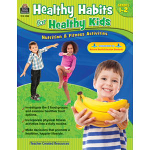 TCR3988 Healthy Habits for Healthy Kids Grade 1-2 Image