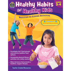 TCR3989 Healthy Habits for Healthy Kids Grade 3-4 Image