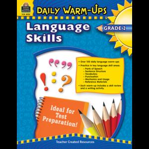TCR3992 Daily Warm-Ups: Language Skills Grade 2 Image