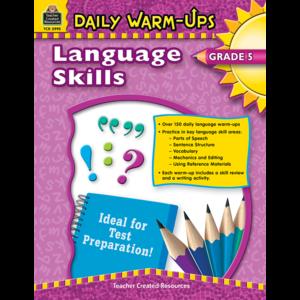 TCR3995 Daily Warm-Ups: Language Skills Grade 5 Image