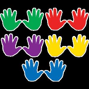 TCR4006 Handprints Accents Image