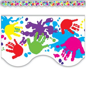 TCR4138 Helping Hands Scalloped Border Trim Image