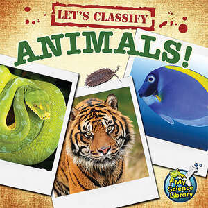 TCR419577 Let's Classify Animals                                       Image