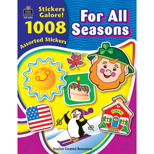 TCR4224 For All Seasons Sticker Book Image