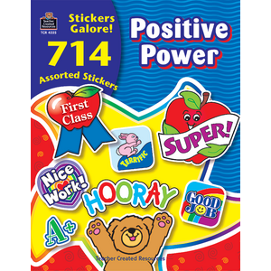 TCR4225 Positive Power Sticker Book Image