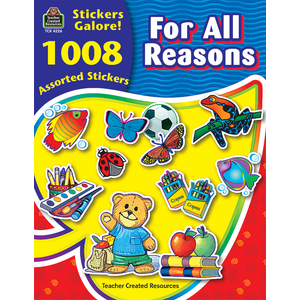 TCR4226 For All Reasons Sticker Book Image