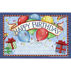 TCR4513 Happy Birthday Awards from Susan Winget Image