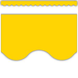 TCR4599 Yellow Gold Scalloped Border Trim Image
