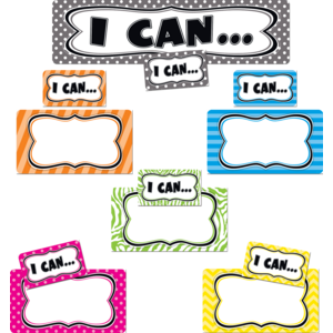 TCR4623 I Can...Mini Bulletin Board Image