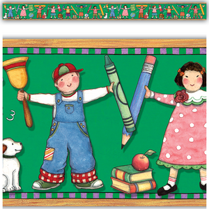 TCR4692 Kids Straight Border Trim from Susan Winget Image