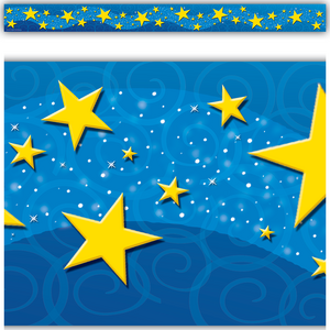 TCR4696 Starry Night Straight Border Trim Image