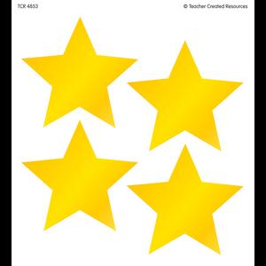 TCR4853 Gold Star Wear 'Em Badges Image