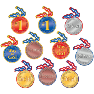 TCR4882 Medals Accents Image