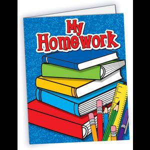 TCR4941 My Homework Pocket Folder Image
