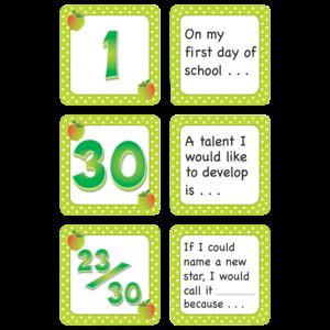 TCR5083 September Polka Dots Calendar Days/Story Starters Image