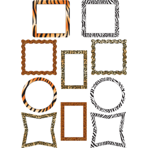 TCR5098 Picture Frame Animal Prints Accents Image